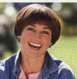 BEST HAIRSTYLE IN ATHLETICS: DOROTHYHAMILL. This was one of the