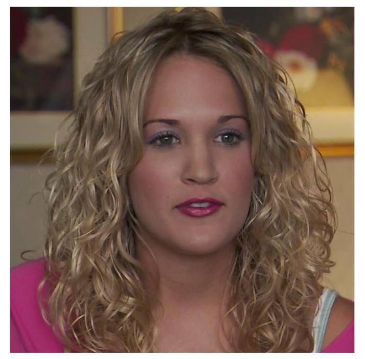 Hair Fan S Hall Of Fame Carrie Underwood